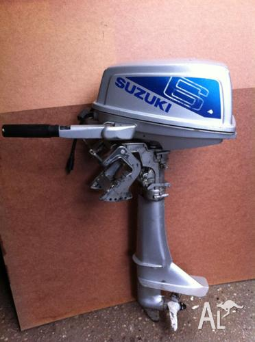 Suzuki 6 Hp Outboard Motor For Sale In Acton Tasmania