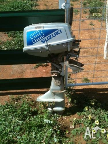 Suzuki 8hp Outboard Motor For Sale In Albert New South