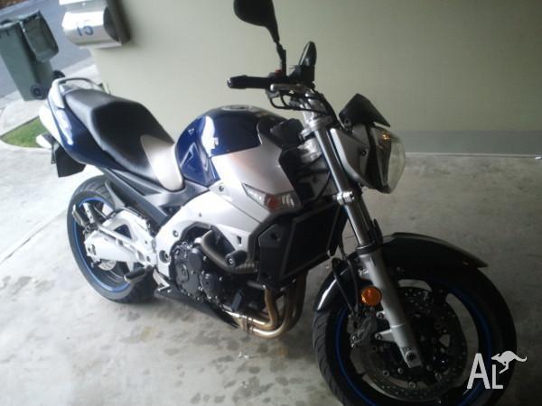 Suzuki GSR 600, 2007, Naked bike, 5 months rego