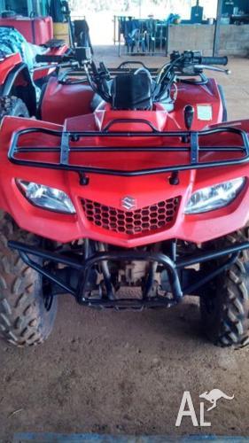 Suzuki KingQuad ATVs X 2
