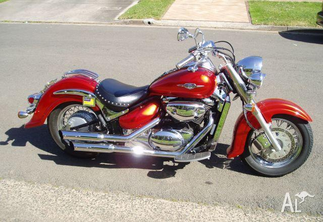 suzuki vl800 boulevard c50 k5 2005 for sale in brighton le sands new south wales classified. Black Bedroom Furniture Sets. Home Design Ideas
