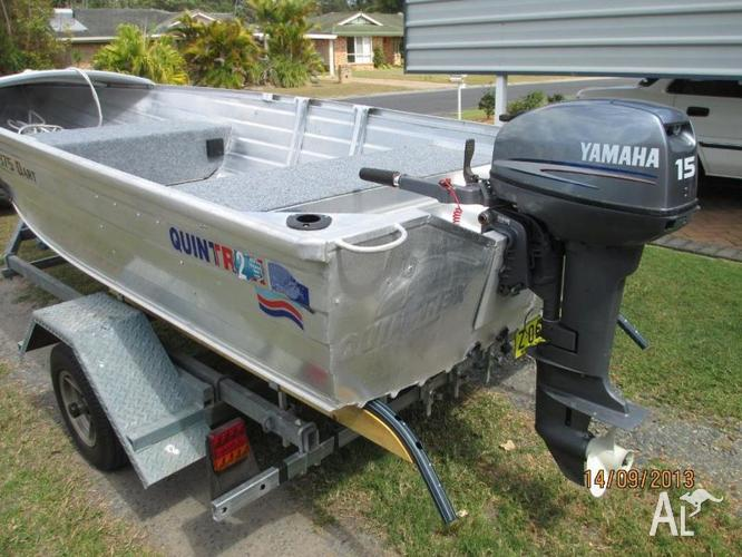 Swap quintrex 375 dart 15hp yamaha for 40hp outboard for for 40 hp yamaha for sale