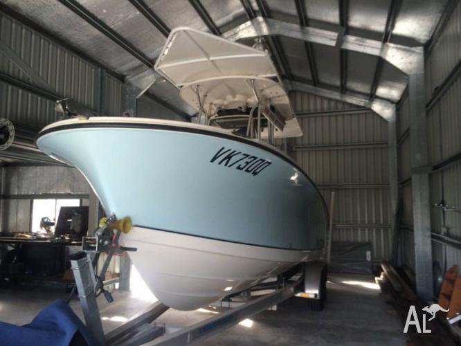 Swap/Sell 2010 Trophy Pro Centre Console Twin 150 HP