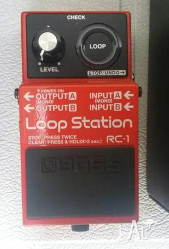 SWAP / TRADE BOSS RC-1 LOOPER PEDAL