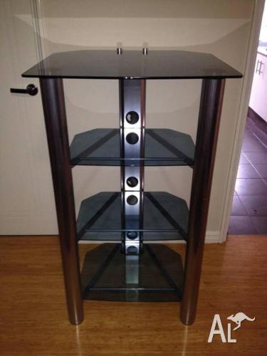 Tall Glass HIFI Stereo stand