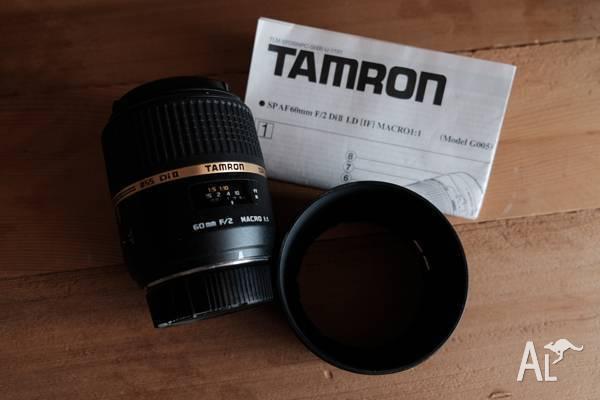 Tamron SP 60MM F/2.0 Di II 1:1 Macro - Nikon Mount