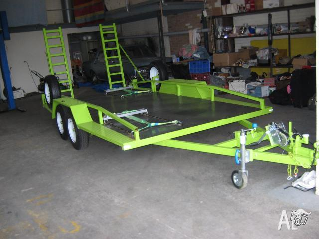 Tandem car trailer for sale in moorabbin airport victoria classified australialisted com