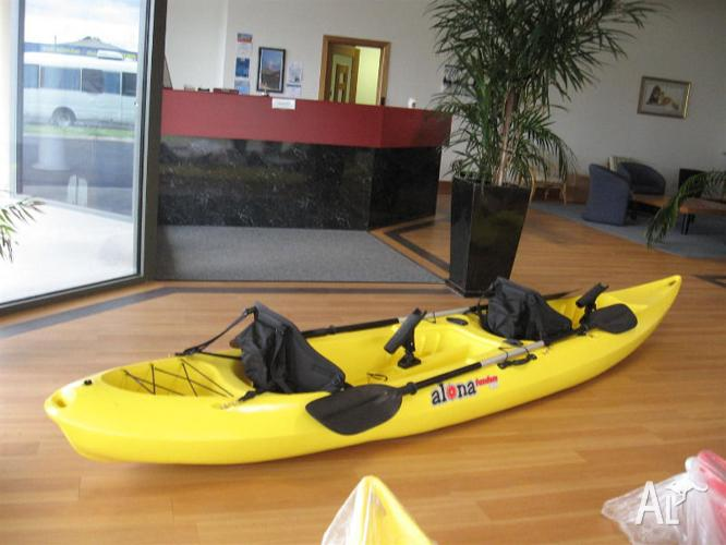 Tandem Fishing Kayaks (x2 available, $750 each)