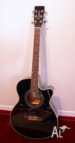 Tanglewood Discovery DBT SFCE BK Acoustic Guitar w.