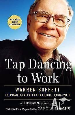 Tap Dancing to Work- Warren Buffett (hardcover)