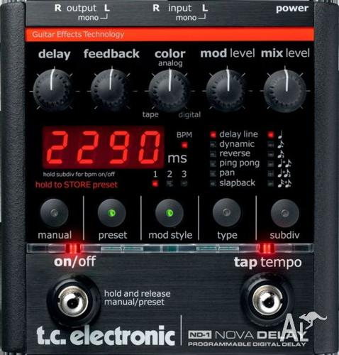 TC Electronic Nova Delay Pedal