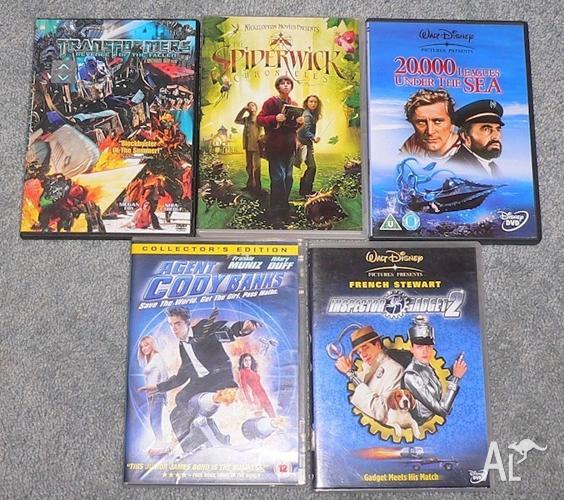 Teen DVD's