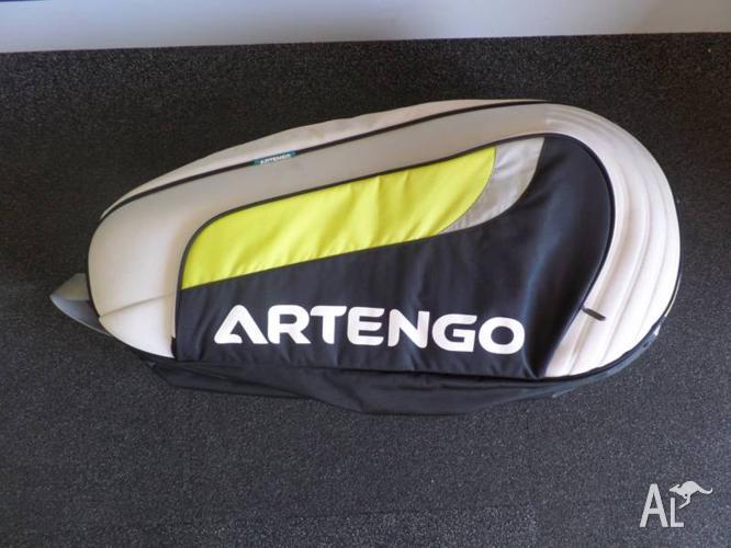TENNIS RACQUET BAG - ARTENGO DOUBLE TENNIS RACQUET BAG