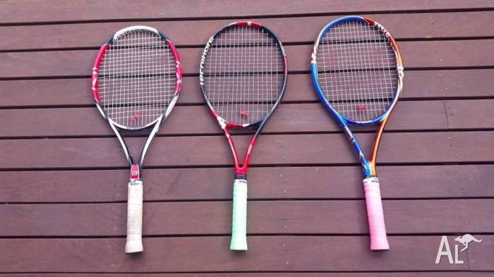 Tennis racquets for Sale!