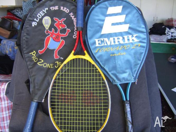 TENNIS RAQUETS FOR CHILDREN & ADULTS