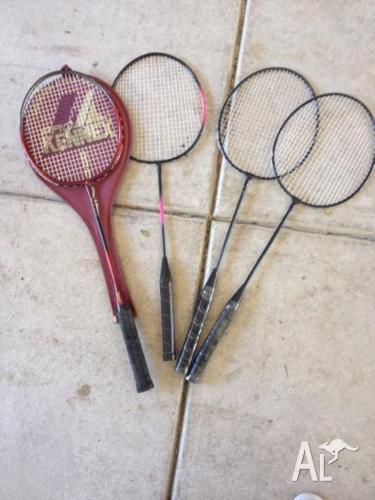 Tennis, Squash and Badminton Requets