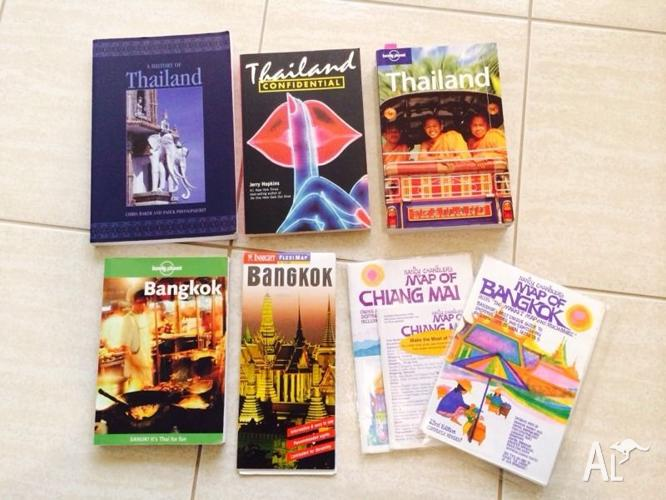 Thailand Bangkok Books and Maps