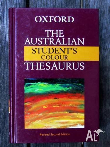 The Australian Student's Colour Thesaurus [Oxford -