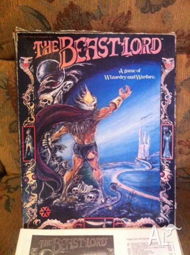 The Beastlord Board Game