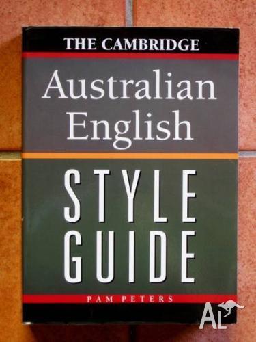 The Cambridge Australian English Style Guide - Pam