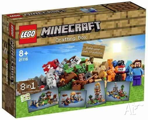 The Crafting Box Lego 21116 New In Box