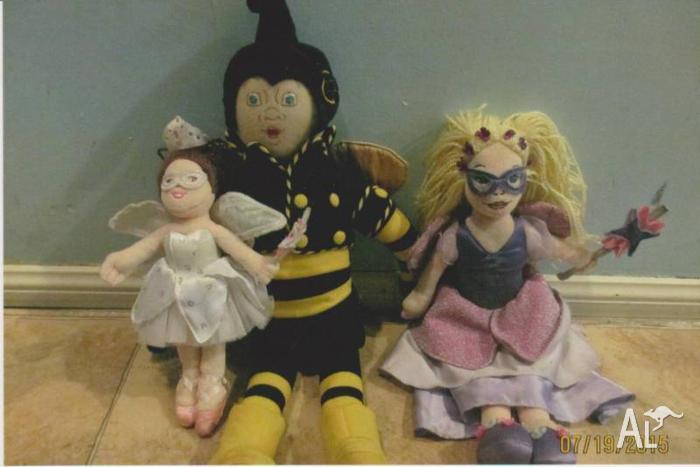 The fairies toys x4