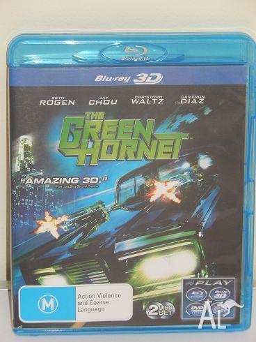 The Green Hornet 3D (3D BLU-RAY)