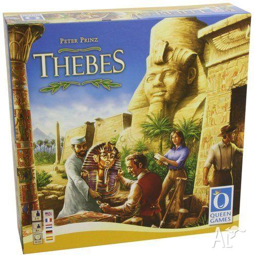 Thebes - board game - Queen games