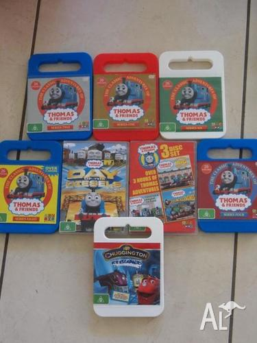 THOMAS & FRIENDS 8 DVD DISC COLLECTION SERIES PLUS MORE