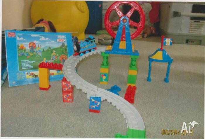 Thomas Mega Blocks 2 sets