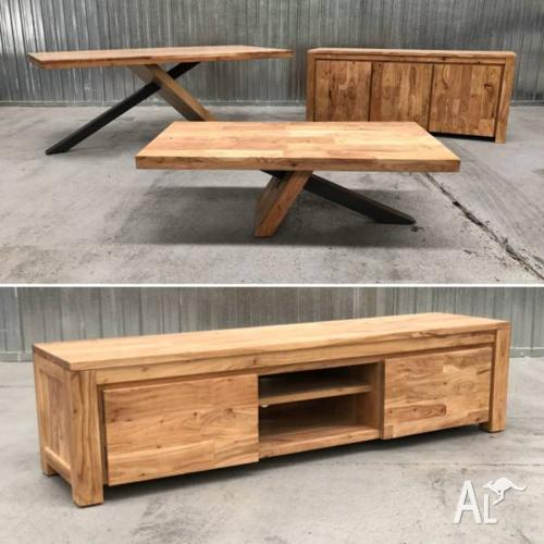 TIMBER FURNITURE - WAREHOUSE OUTLET - 50% OFF RRP