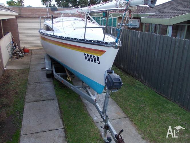 timpenny 770 trailer sailer