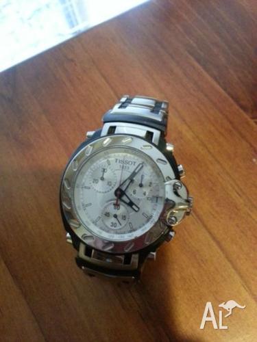 Tissit T Race T472s sapphire crystal men's chronograph