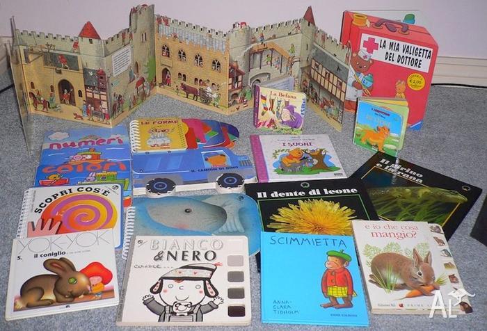 toddler's books in Italian