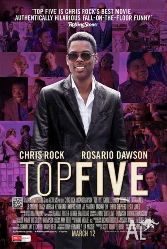 TOP FIVE in season movie cinema tickets - Admit 2