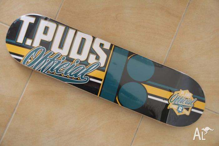 TOREY PUDWILL PRO MODEL BOARD 8 INCH WIDE