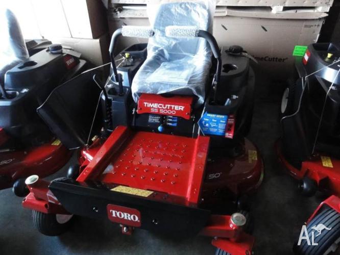 Toro SS5000 Zero Turn Mower 50