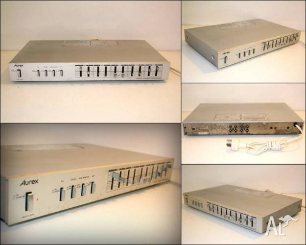 TOSHIBA AUREX EQ-500 5 Band Graphic Stereo Equalizer