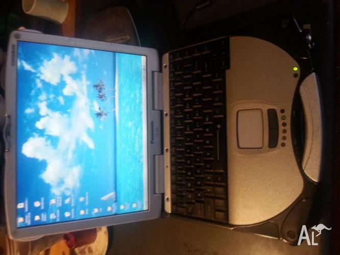 Toughbook laptop computer