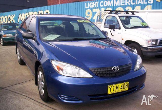 Toyota Camry Altise Used Car Review