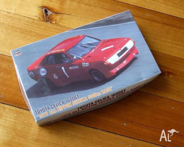 1:24 TOYOTA CELICA model toy kit Suzuka TA22 1600GT