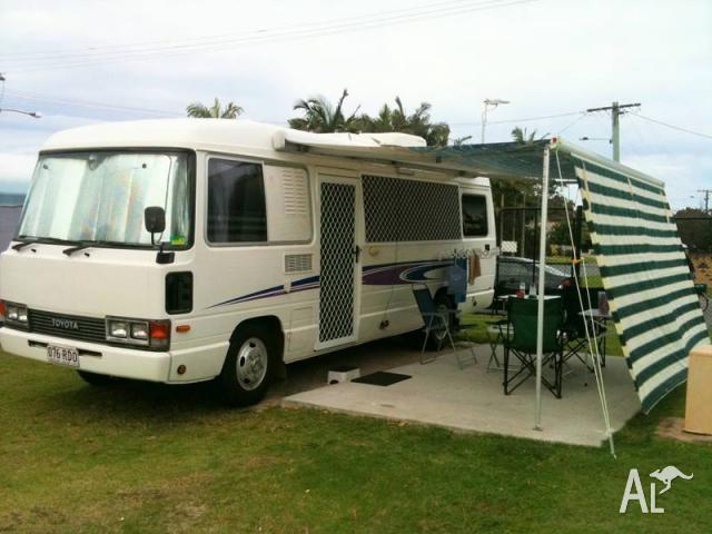 Toyota coaster motorhome 1hz diesel l.w.b -92 for Sale in MARSDEN, Queensland Classified ...