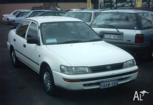 Toyota Corolla CSi  1995