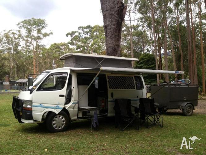 Toyota Hiace 4X4 Diesel Campervan* for Sale in CARLISLE