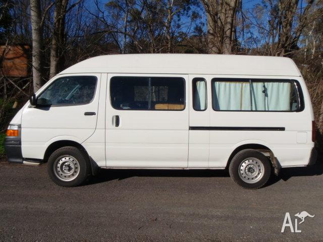 c9738cfb9e ... Toyota Hiace Commuter Camper ~ Van converted to camper rv tiny home  toyota hiace commuter ...