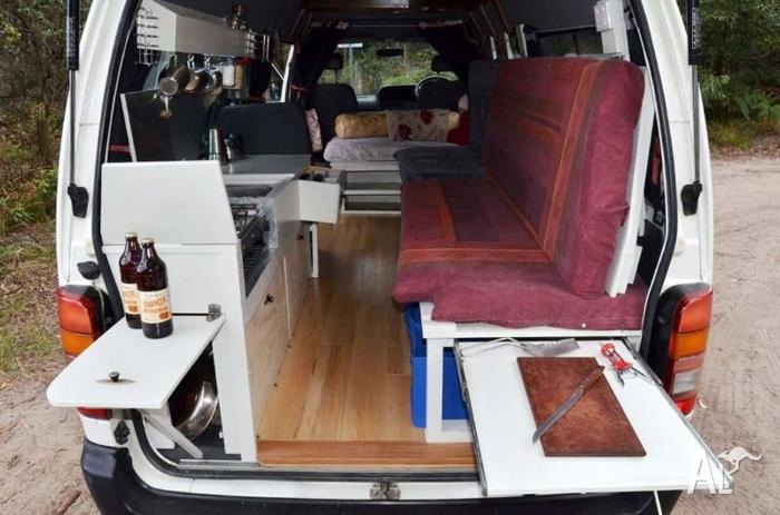 Toyota Hiace Commuter Campervan For Rent Or Sale For Sale