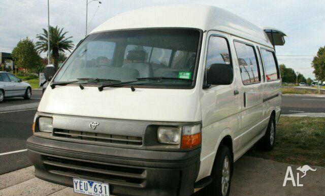 TOYOTA HIACE WHEELCHAIR Commuter 1995 for Sale in OAKLEIGH, Victoria ... 3a3c50447ae