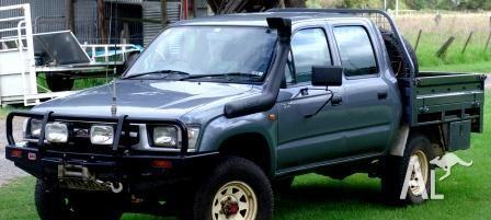Toyota Hilux Dual Cab Tray - With Canvas canopy & hilux canvas canopy Classifieds - Buy u0026 Sell hilux canvas canopy ...