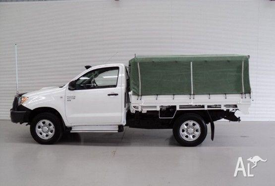 TOYOTA HILUX SR (4x4) KUN26R 2006 & hilux canvas canopy Classifieds - Buy u0026 Sell hilux canvas canopy ...