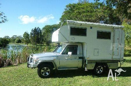 Toyota landcruiser gemhunter gxl vdj79r for sale in gympie for Beds r us gympie